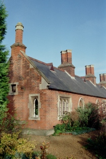 Almshouses on Newnham Road