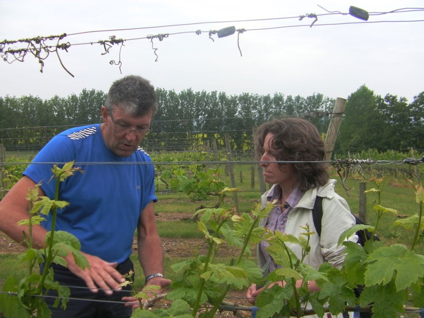 Christine-Dupuis-with-winemaker-Mark-Barnes-Chilford2