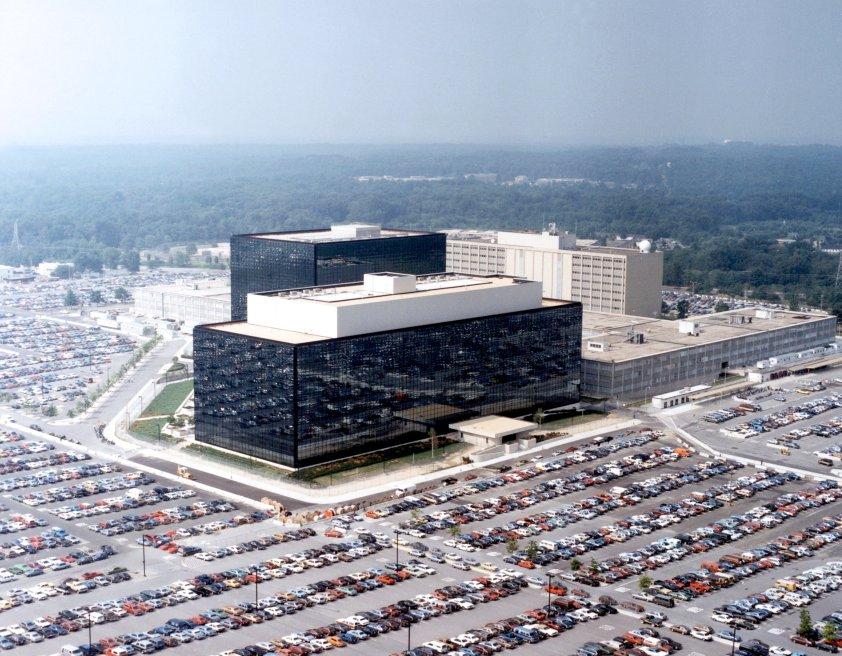 Top Secret - NSA HQ at Fort Meade, Maryland