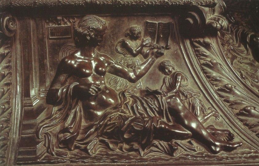 Grammar - Tomb of Sixtus IV Antonio del Pollaiuolo