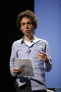 ... more like Malcolm Gladwell (photo by Kris Krüg)