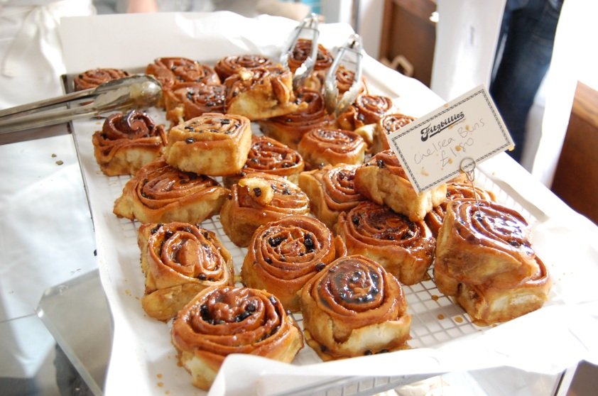 Chelsea buns at Fitzbillies  Photo courtesy of The Bountiful Plate